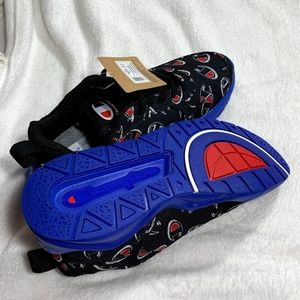 Champion Shoes - CHAMPION 93Eighteen Repeat Black Shoes Sneakers